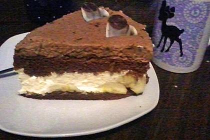 Bananen-Schokosahne Torte 3