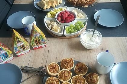 Zwiebelkuchen in der Muffinform 10