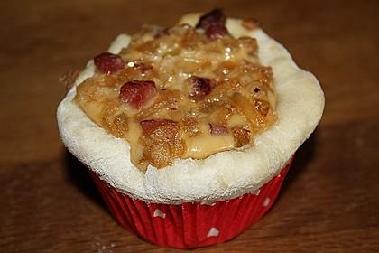 Zwiebelkuchen in der Muffinform 9
