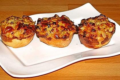 Zwiebelkuchen in der Muffinform 5