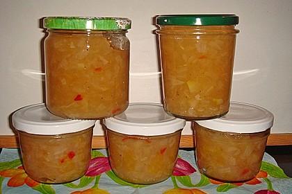 Birnen-Apfel-Chutney 2