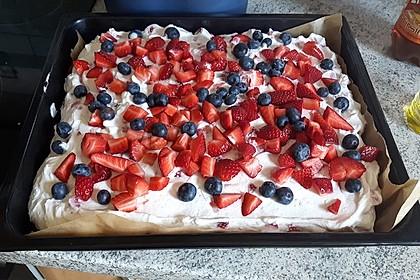 Erdbeer-Schmand Kuchen vom Blech