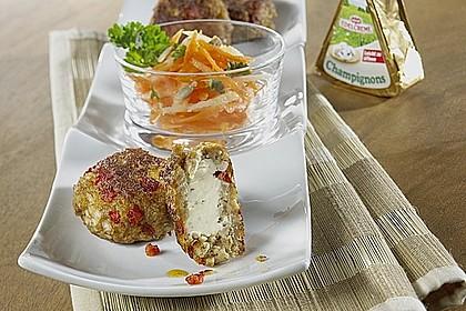 Gefüllte Mini-Frikadellen mit Apfel-Möhren-Salat 0