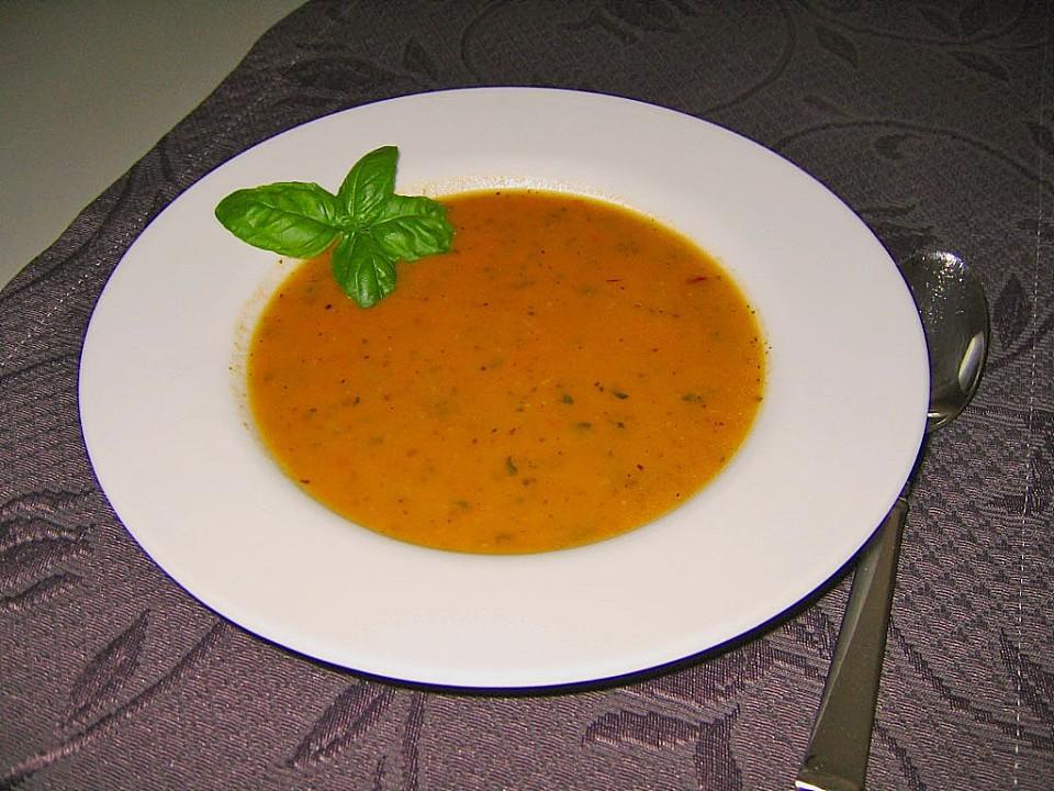 leichte zucchini tomaten suppe von cathy85. Black Bedroom Furniture Sets. Home Design Ideas