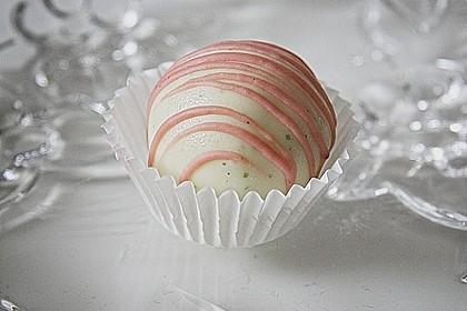 Limetten Hibiskus Cake Pops / Cake Balls 1