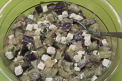 Auberginensalat  mit  Schafskäse 2