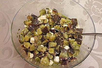 Auberginensalat  mit  Schafskäse 5
