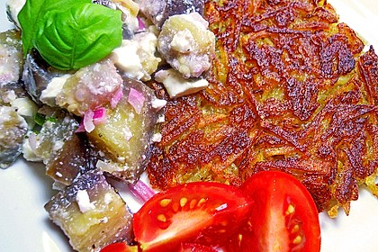 Auberginensalat  mit  Schafskäse 3