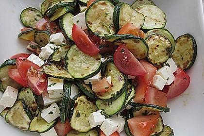 Zucchini-Tomaten-Salat 7