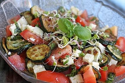 Zucchini-Tomaten-Salat 1