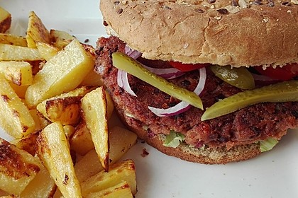 Vegetarische Burger 3