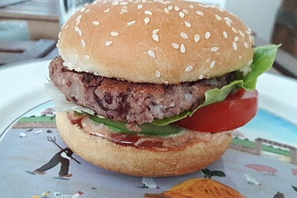Vegetarische Burger 18