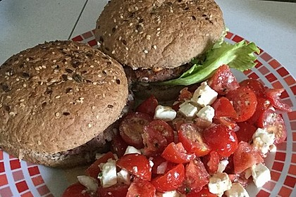 Vegetarische Burger 34