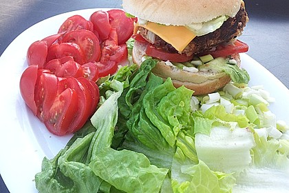 Vegetarische Burger 17