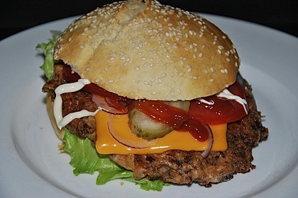 Vegetarische Burger 11