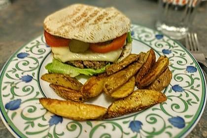 Vegetarische Burger 36