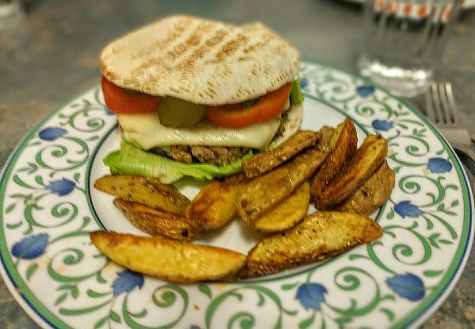 vegetarische burger rezept mit bild von nalgask. Black Bedroom Furniture Sets. Home Design Ideas