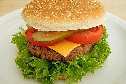 Vegetarische Burger 2