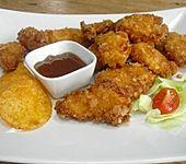 Chicken Nuggets mit Chips-Kruste (Bild)