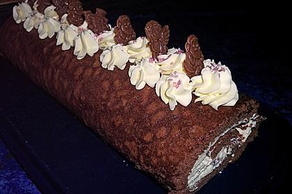 Schokoladenbiskuit