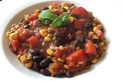 Veganes, basisches Chili 1