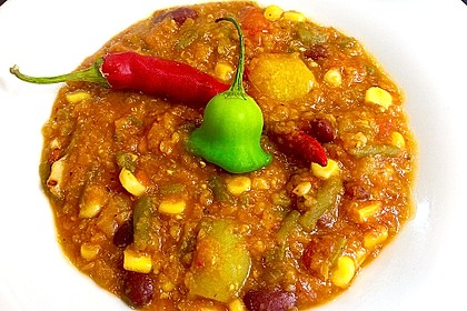 Veganes, basisches Chili 4