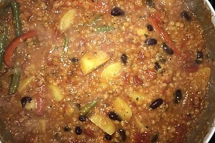 Veganes, basisches Chili 11