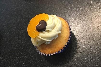 Mandarinen-Cupcakes 11