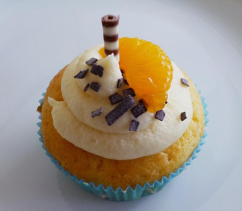 mandarinen cupcakes rezept mit bild von birgit1980. Black Bedroom Furniture Sets. Home Design Ideas