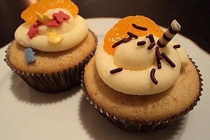 Mandarinen-Cupcakes 4