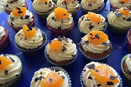 Mandarinen-Cupcakes 1