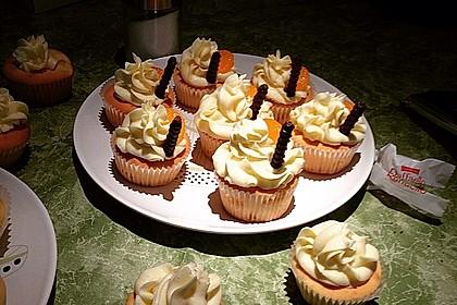 Mandarinen-Cupcakes 6
