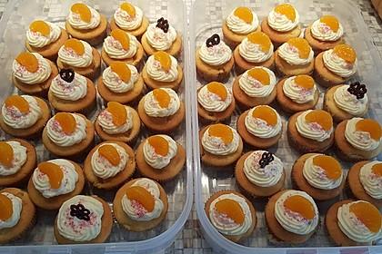 Mandarinen-Cupcakes 7