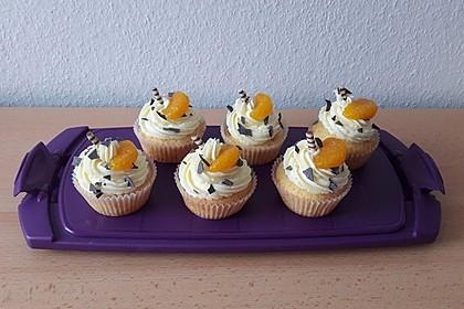 Mandarinen-Cupcakes 5