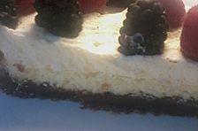 Himbeer-Brownie-Käsekuchen