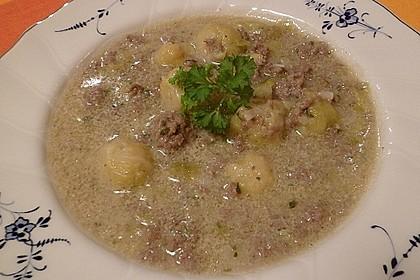 Hackfleisch-Rosenkohl-Suppe 3