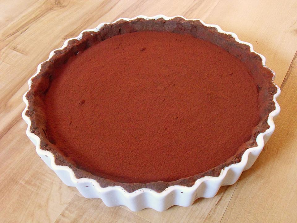 mousse au chocolat tarte rezept mit bild von. Black Bedroom Furniture Sets. Home Design Ideas
