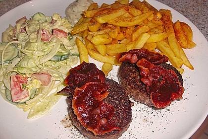 Deutsches Beefsteak nach Uromas Art