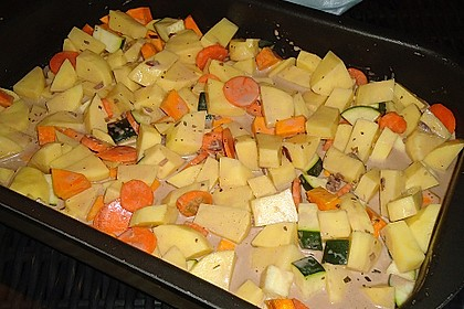 Herbstliches Schweinefilet aus dem Ofen 3