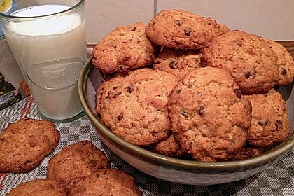 Amerikanische Chocolate Chip Cookies 0