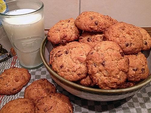 amerikanische chocolate chip cookies rezept mit bild. Black Bedroom Furniture Sets. Home Design Ideas