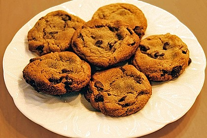 Amerikanische Chocolate Chip Cookies 2