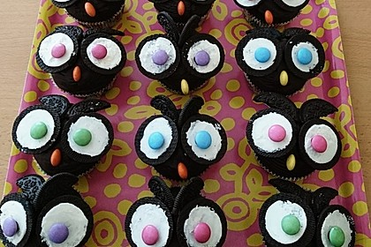 Eulen-Muffins 24