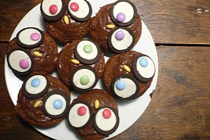Eulen-Muffins 25