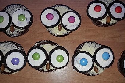 Eulen-Muffins 26
