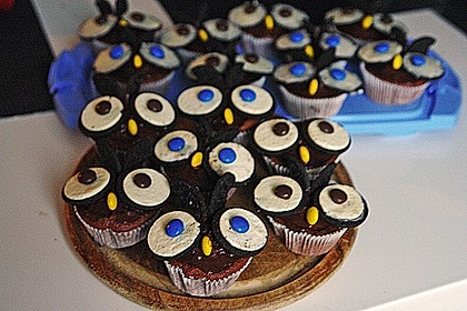 Eulen-Muffins 21