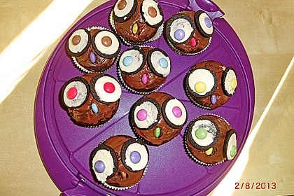 Eulen-Muffins 60