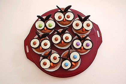 Eulen-Muffins 2