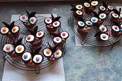 Eulen-Muffins 16