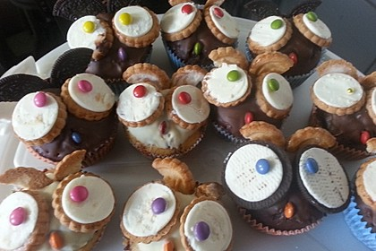 Eulen-Muffins 40